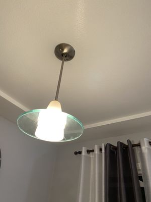 Two modern style light fixtures for Sale in Downey, CA