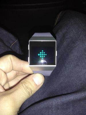 Fitbit® Ionic Smartwatch - Charcoal/Smoke Gray for Sale in Las Vegas, NV