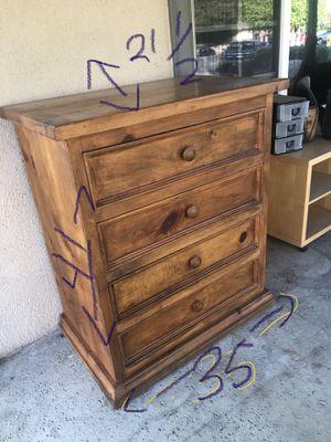 All wood dresser for Sale in Whittier, CA
