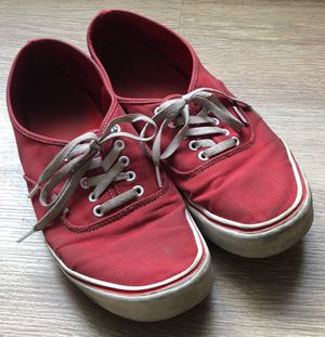 classic red vans shoes (us 13 men's) for Sale in Aurora, CO