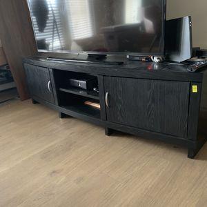 Dark Espresso Wood TV Stand / Media Console for Sale in Arlington, VA