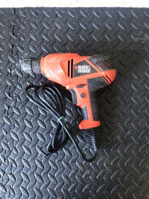 Black & Decker Corded Drill/Driver for Sale in Oklahoma City, OK