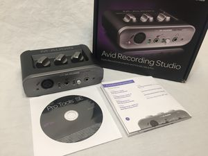 M-AUDIO AUDIO INTERFACE WITH PROTOOLS for Sale in Portland, OR