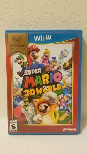 Super Mario 3D World Nintendo Wii U for Sale in Fresno, CA