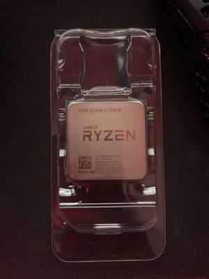 AMD Ryzen 3 2300x & Cooler Master Stealth heat sync fan for Sale in Fort Lauderdale, FL