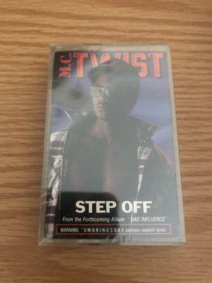 M.C TWIST STEP OFF CASSETTE TAPE SINGLE 1990 NEW SEALED RAP HIP HOP for Sale in Portland, ME