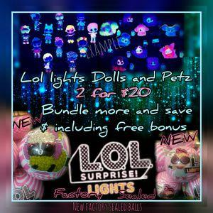 Lol surprise lights glitter for Sale in INVER GROVE, MN
