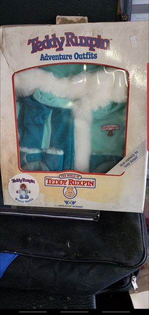 Teddy Ruxpin Vintage outfits for Sale in Norwalk, CA