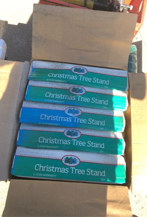 Christmas tree farm tree stands and netting for Sale in Upland, CA