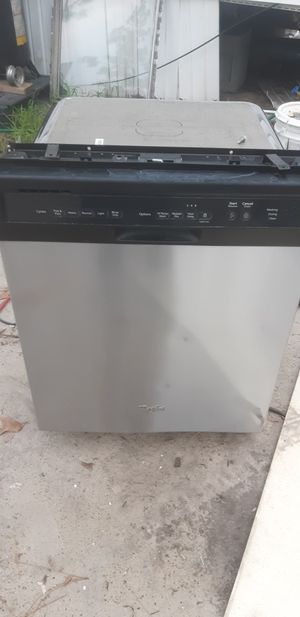 Whirpool stainless dishwasher for Sale in West Columbia, SC