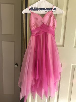 "Girls pink CURTAIN CALL dance COSTUME DRESS,Size 12C, 39"" Long for Sale in Grosse Pointe Shores, MI"