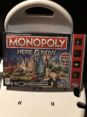 Monopoly Here & There Board Game. Last minute Christmas gift! for Sale in Auburndale, FL