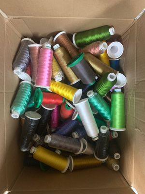 Thread cone different colors for Sale in Fresno, CA