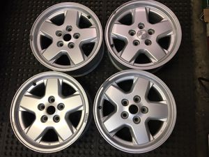 "Jeep Liberty 16"" OEM Alloy Wheels, Set of 4 for Sale in San Jose, CA"