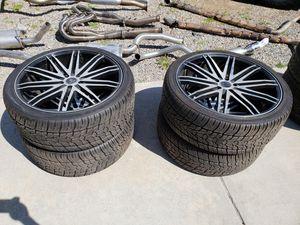 "5 lug, 5x114??? 22"" Verde wheels / tires for Sale in San Diego, CA"