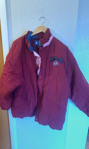 Colorado avalance starter jacket no hoodie size XL for Sale in Denver, CO