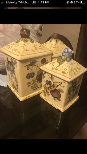 Kitchen canisters for Sale in Apple Valley, CA