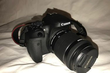 Canon rebel t6i for Sale in Cheney,  KS