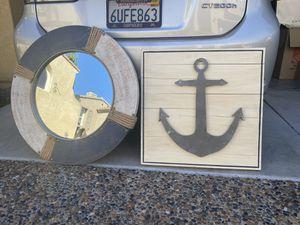 Nautical Art and Mirror for Sale in Chula Vista, CA