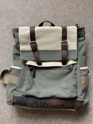 Suvom Canvas Laptop Backpack for Sale in Worcester, MA