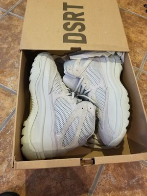 Adidas yeezy dsrt boot Salt size 9.5 for Sale in UPPR MARLBORO, MD