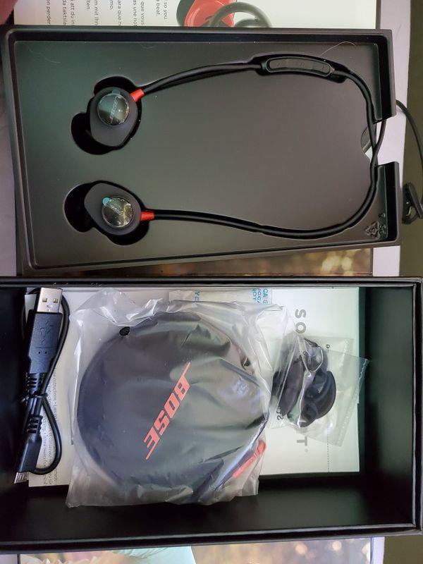 Bose SoundPulse wireless Bluetooth headphones