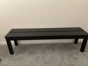 Ikea bench 6ft long set of 2 for Sale in Murrieta, CA