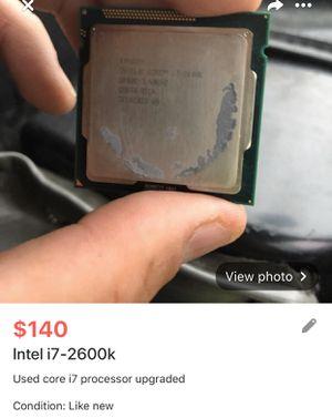 I7-2600k for Sale in Buffalo, NY