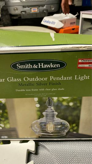 Outdoor electric pendant light for Sale in Wesley Chapel, FL