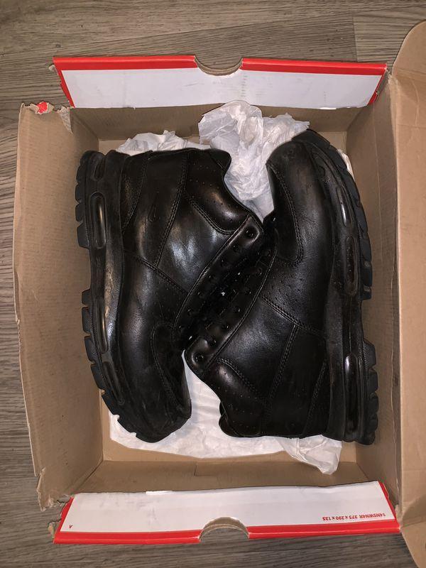 Nike air max goadome work boots size 10.5