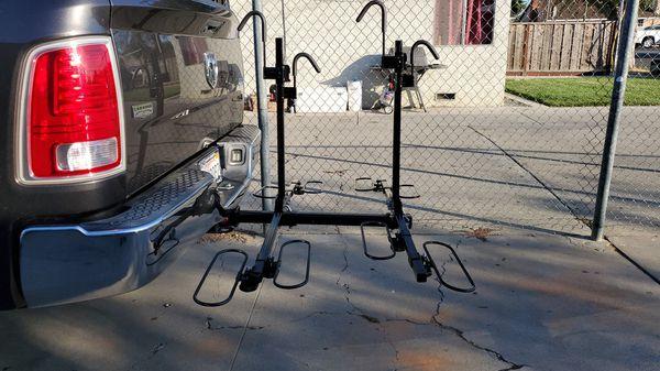 Heavy Duty Bike Rack 4 bikes