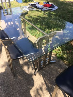 Kitchen table with 4 chairs for Sale in Lexington, KY