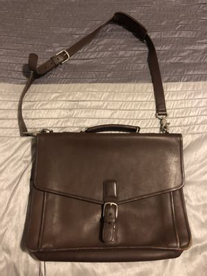 Coach Brown Leather Messenger Bag for Sale in Grandview Heights, OH