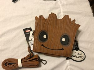 Marvel Disney Guardians of the Galaxy Loungefly Groot Cross bag for Sale in West Covina, CA