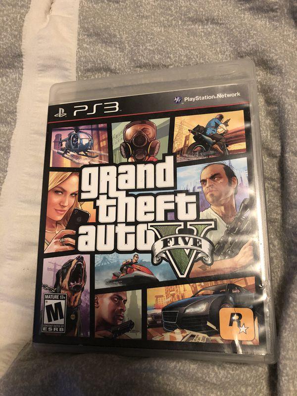 GRAND THEFT AUTO V GTA 5 PS3 PlayStation
