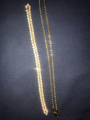 14K Chains READ DESCRIPTION for Sale in Davenport, FL