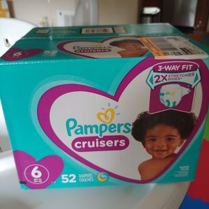 Pampers cruisers - size 6 for Sale in Seattle, WA