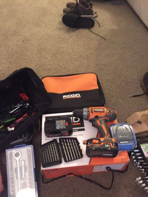Brand new tools! Never used once. Wireless Rigid drill for Sale in Portland, OR