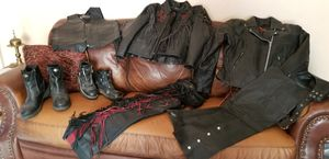 Motorcycle leathers...all 7 items for 1 flat price for Sale in Portland, OR