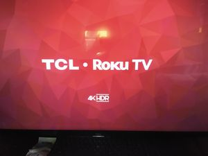 TCL 43 inch 4K. Manuf. Refurbished for Sale in Garland, TX