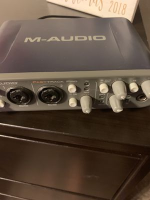 M-Audio Fasttrack Pro for Sale in Arlington, TX