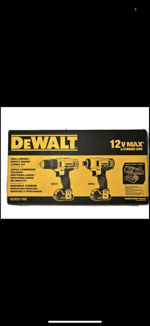 Dewalt 12v drills for Sale in Stockton, CA