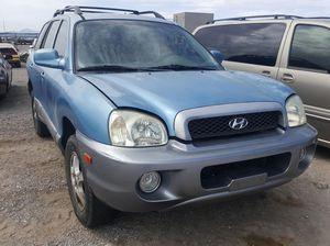 2004 Hyundai Santa Fe @ U-Pull Auto Parts 047687 for Sale in Las Vegas, NV