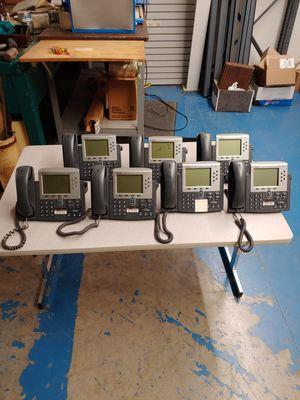 Cisco VOIP Phones qty 7 for Sale in Bellefontaine, OH
