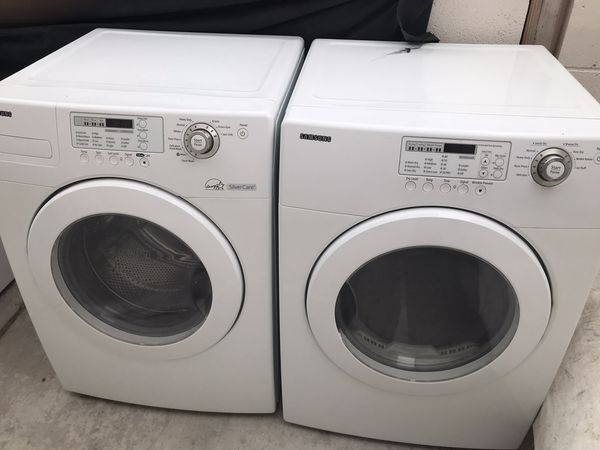 Samsung washer and gas dryer