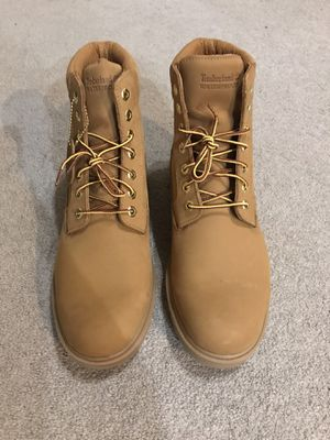 Timberland 6-Inch Basic Waterproof Men's Boots Wheat Buck 19079 Size 12 for Sale in McKinney, TX