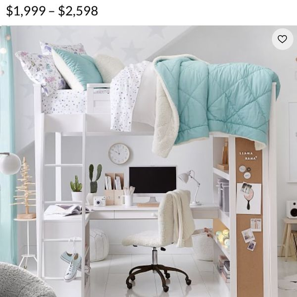Sleep And Study Loft Bed