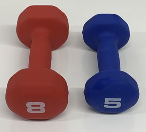 Cap Neoprene Hex Dumbell Set 8 lbs and 5 lbs New (Read Entire Ad) for Sale in Lutz, FL