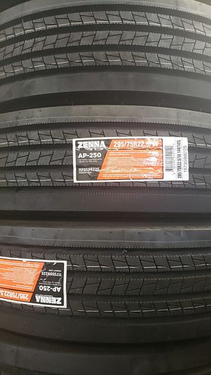 Zenna all position tire *steer,trailer* 295/75/22.5 for Sale in Addison, IL