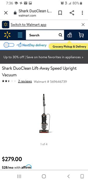 New shark vacuum cleaner never used brand new for Sale in Stockton, CA